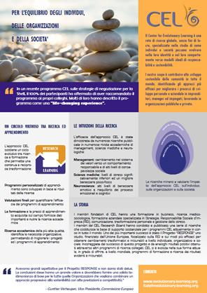 Scarica la brochure di CEL Italia